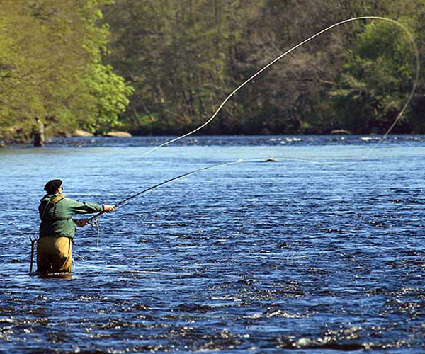 Sishing on River Spey, Speyside